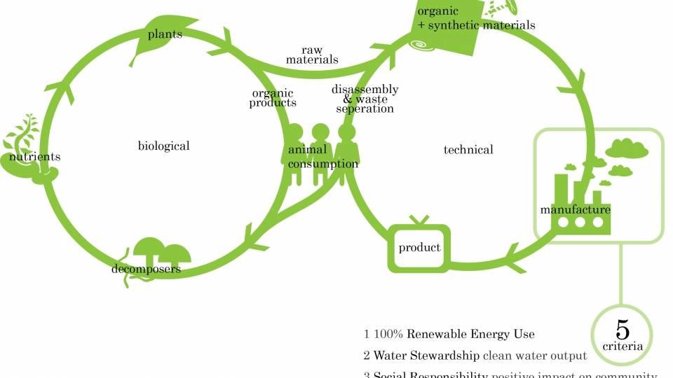 Ciclo biológico y tecnológico de los productos