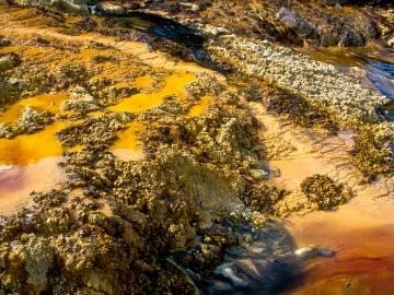 Contaminación de suelo por piritas