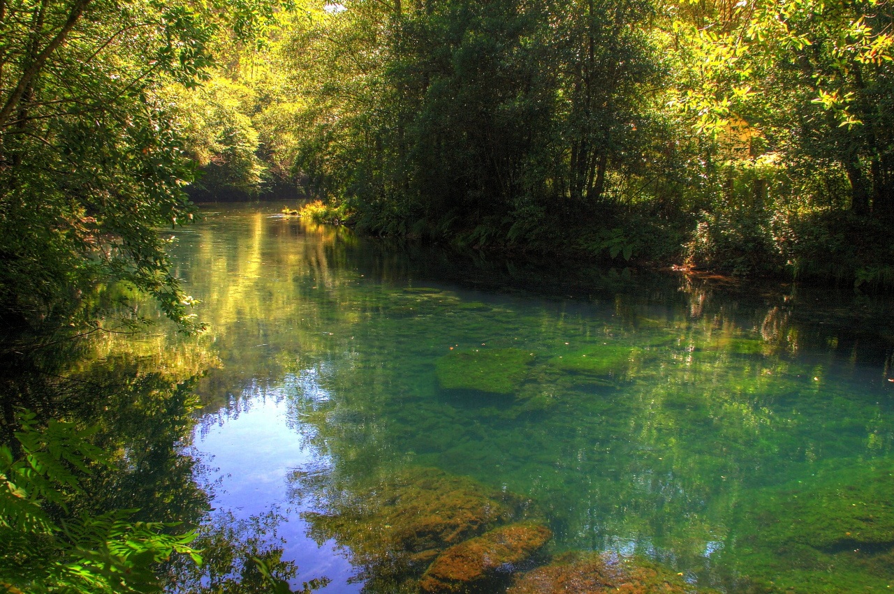 Parque Natural Fragas Do Eume Rea Declarada ZEC Zona Especial De Conservacin